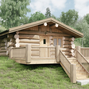Luxury Log Lodges Cabins Shropshire UK