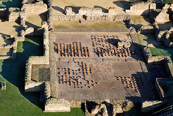 wroxeter roman village shropshire