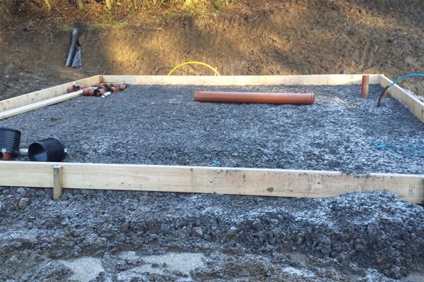 Mountain Edge Lodge Cabin Build Shropshire