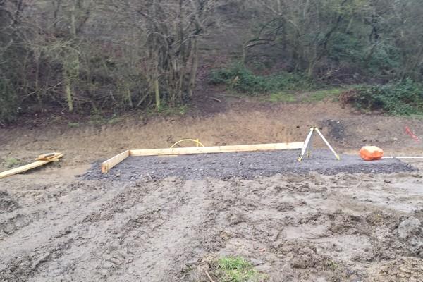 Luxury Log Cabin Build Shropshire 1