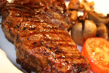 Steak night at The Station Inn Shropshire